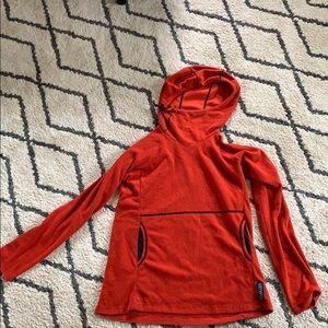 Melanzana red pullover